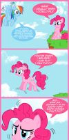 Pinkie Wants to Fly by Cartoon-Admirer
