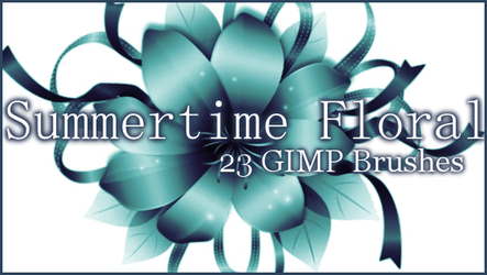 GIMP Summer Time Floral by Illyera