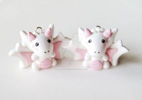 Cherry Blossom White Dragons by mAd-ArIsToCrAt