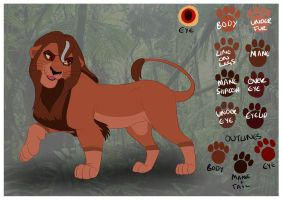 Agua Character Sheet commission by Elbel1000