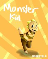 Undertale - Monsterkid by ShanlyMarker