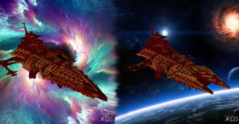 Chaos Battleship Collection for XPS by Aequitas-Imperator