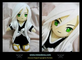 Juushiro Ukitake by renealexa-plushie