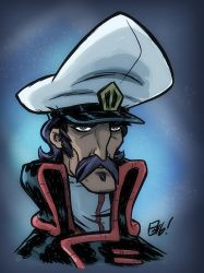 Captain Gloval by OtisFrampton
