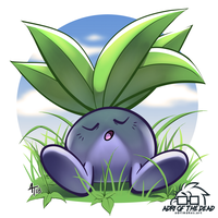 #PokeMonday - Oddish by AdriOfTheDead