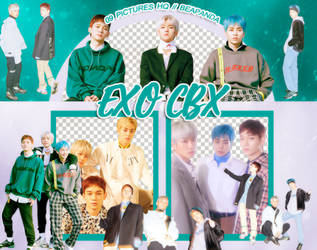 Pack Png 1027 // EXO-CBX (Blooming Days) by BEAPANDA