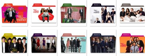 How I Met Your Mother Folder Icons by nellanel