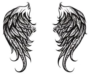 tattoo wings by abou3