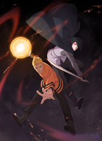 Naruto - Tribute by Roggles