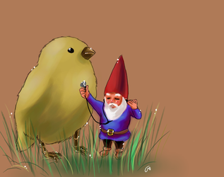 David the Gnome by Ohyeahhero