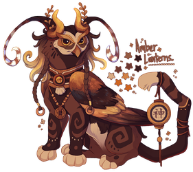 Amber Lanterns Gryphon [ CLOSED! ] by Plumbeck