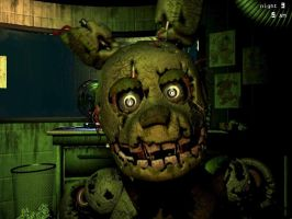 Springtrap's Other Jumpscare by gold94chica