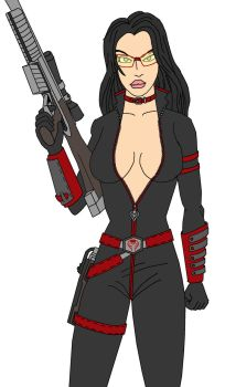 The Baroness (Color flats) by crashmurdoch