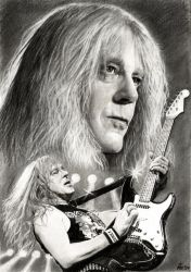 Janick Gers- IRON MAIDEN by akaLilith