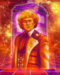 Doctor Who - Colin Baker by Kachumi