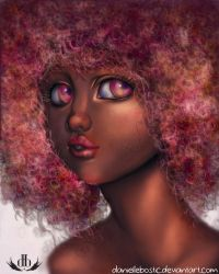 Cotton Candy and Chocolate by DanielleBostic