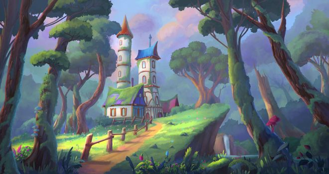 Forest House by Reinmar84