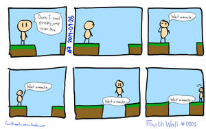 Fourth Wall Comics #0001 - Solidity by trwnh