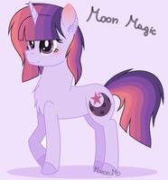 .:Mlp Next gen:. Moon Magic by EmaBases