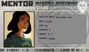 HGOCT Mentor: Marthra Spikerush by SirSmudge
