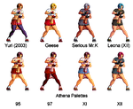 Moe Habana possible palettes by blackwind677
