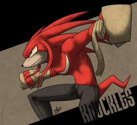 Knuckles by Ben-Anderson