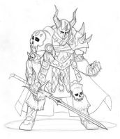 Warlord - Pencils by chaoticbeing