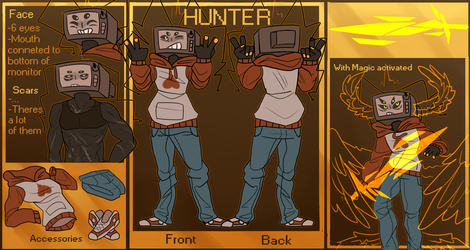 Ref - Hunter by Aria-Hope