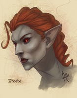 Phoebe by mbrisa