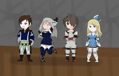Bravely Second  by FlameVmark