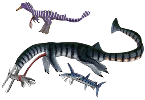 Aquatic Pescidons and Arthrognathans from Snaiad by Preradkor