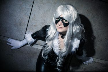 Black Cat - Come and get me by Loz-Sama
