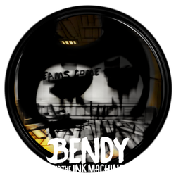 Bendy and The Ink Machine - Dock Icon by courage-and-feith