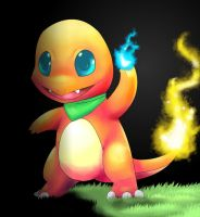 Anna the Charmander by Pand-ASS