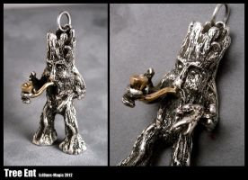 Tree Ent pendant by EagleWingGallery