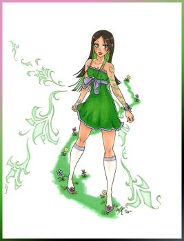 +.The Green Girl.+ by SpecterQueen