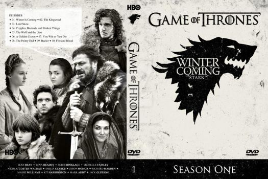 Game Of Trone Season 1 Dvd Cover: DVD Covers By Lunatic9289 On DeviantArt