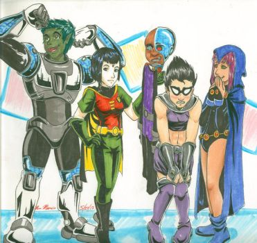 Teen Titans Go! by HapaAve