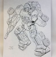 Ironhide for March of Robots 2017 by Mecha-Zone