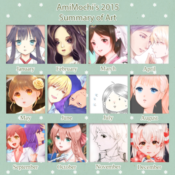 Art Summary : 2015 by AmiMochi
