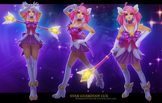 Star Guardian Lux by MissMaddyTaylor