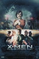 X-Men: Days of Future Past | Poster by Squiddytron