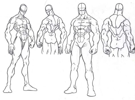 Poses - Male by kameleon84
