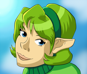 Adult Saria by squeezycheesecake