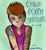 Cheap Point Commissions CURRENTLY CLOSED by FacingTemptation
