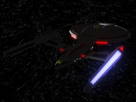 USS Titan 'Prototype' TopAft by thequestionmark