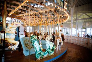 Carousel at Lighthouse Point by Blake32p