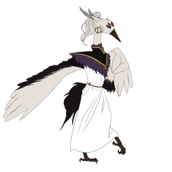 [Adoptable] Anthro Bird Prince (CLOSED) by skyquil
