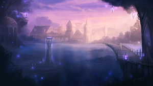 Lake of the Evening Star - Elven Commonwealth by Lionel23