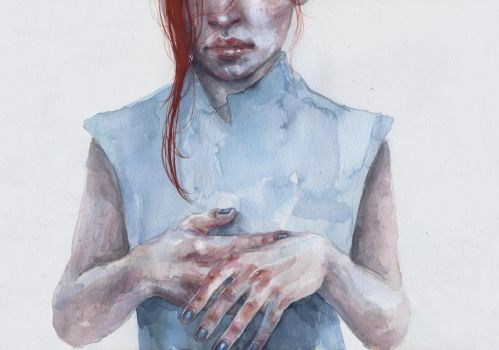 giving away the hands by agnes-cecile